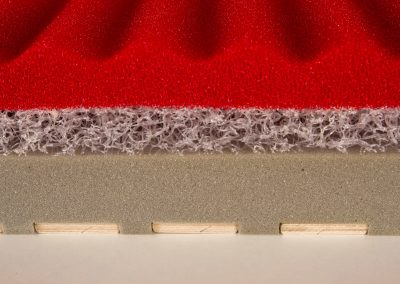 3D labirint farugós elasztikus matracmag