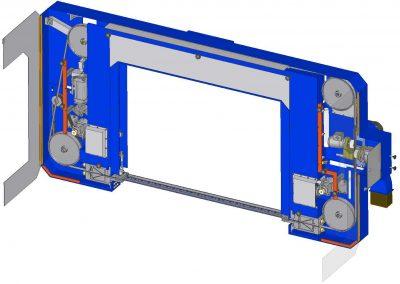CNC keretdoboz összeállítás