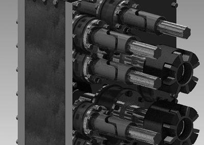 Homlokkerekes hajtómű vágott hab gyártó főgéphez